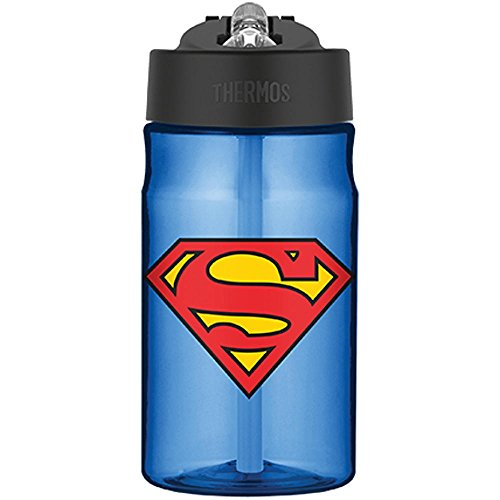 Thermos-Superman-Hydration-Bottle-with-Flip-Up-Straw-12-Ounce