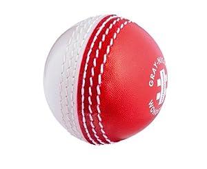 GRAY-NICOLLS Wonderball Swing Cricket Ball , Red/White, Junior