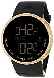 Gucci Men's YA114217 I-Gucci Digital GRAMMY Special Edition Black Watch