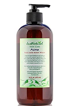 This acne face/body wash is made with skin-soothing Aloe Vera and bacteria fighting Foraha, Karanja and Sea Buckthorn that gently help with blemishes, reduces redness and irritation caused by acne. This extra-gentle formula removes dirt and oil witho...