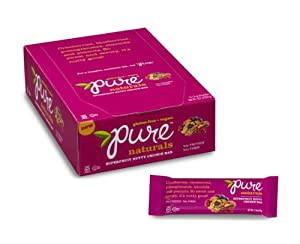 Pure Natural Bars, Superfruit Nutty Crunch, 1.5-Ounce Bars (Pack of 12)