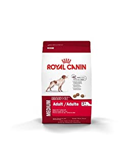 Royal Canin Medium Adult Aged 7 Plus Dry Dog Food, 30-Pound Bag