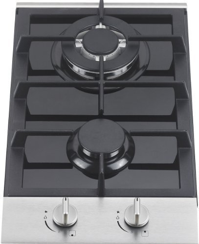 Ramblewood high efficiency 2 burner gas cooktop(Natural Gas), GC2-48N (Countertop Gas Burner compare prices)