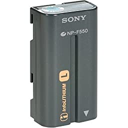 Sony NPF550 InfoLithium Battery for the DCRVX2100 and HDRFX1
