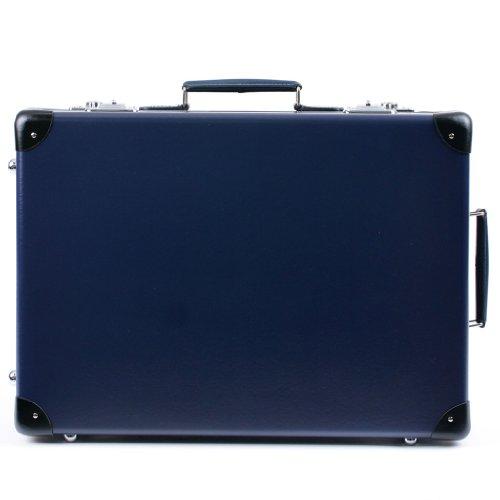(グローブトロッター) GLOBE TROTTER ORIGINAL オリジナル 21インチ トロリーケース スーツケース ネイビー/ブラック [並行輸入品]