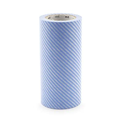 Light Blue Stripe Masking Tape||RNWIT