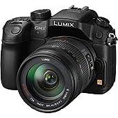 Panasonicミラーレス一眼カメラ ルミックス GH3 レンズキット 高倍率ズームレンズ付属 ブラック DMC-GH3H-K