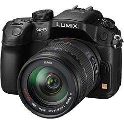 Panasonic ルミックス デジタル一眼カメラ/レンズキット(14-140mm/F4.0-5.8ズームレンズ付属) フルハイビジョン動画撮影 ブラック DMC-GH3H-K