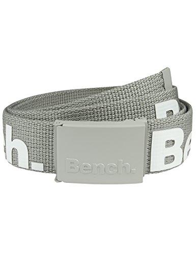 Bench Herren Gürtel Gianni, Neutral Grey, One Size, BMUA0089
