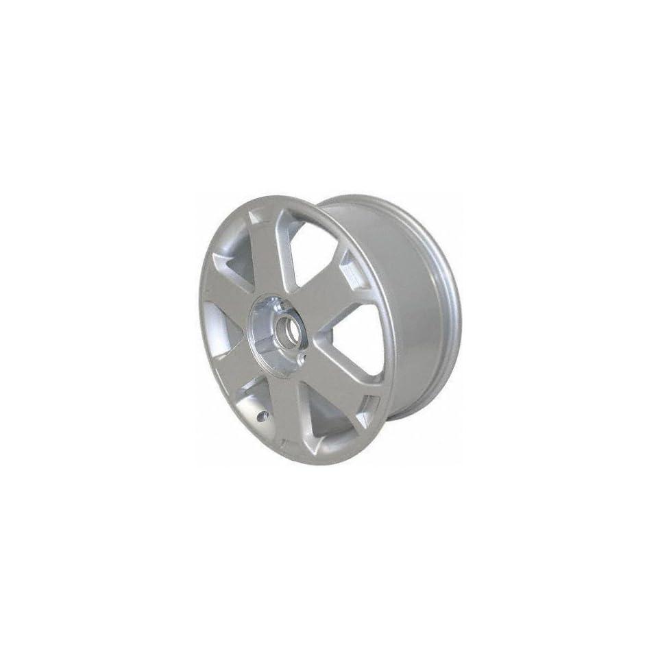 00 02 AUDI S4 ALLOY WHEEL (PASSENGER SIDE) = (DRIVER RIM 17 INCH, Diameter Width 7.5 (6 SPOKE) SILVER 45mm offset 1 Piece Only (2000 00 2001 01 2002 02) ALY58723U10N