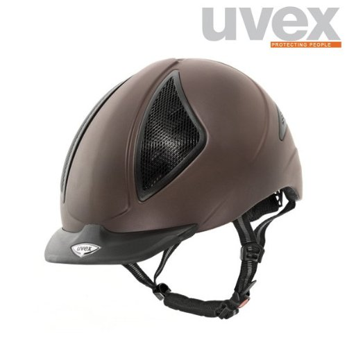 Uvex Uvision Brown Mat Reithelm