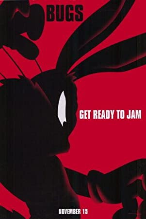(11x17) Space Jam - Bugs Bunny Red Movie Poster