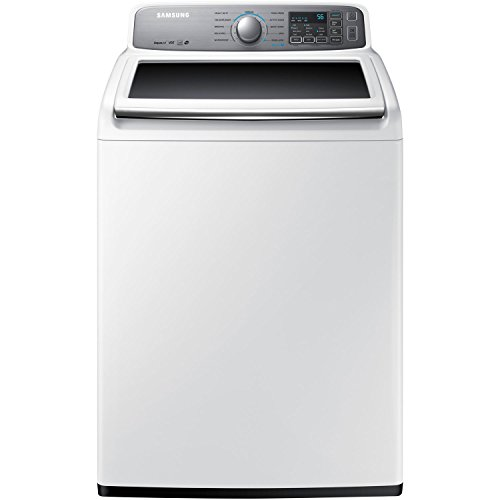 Samsung WA45H7200AW Energy Star 4.5 Cu. Ft. Top-Load Washer with AquaJet Technology, White