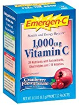 Emergen-C Cranberry Pomegranate 10 pac by Alacer Corp.