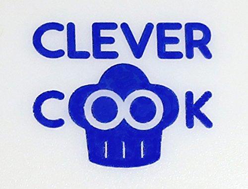 Clever Cook Silicone Plastic No Blades Vegetable & Fruit Slicer Peeler Scoop Set of 2 Food Prep Tools