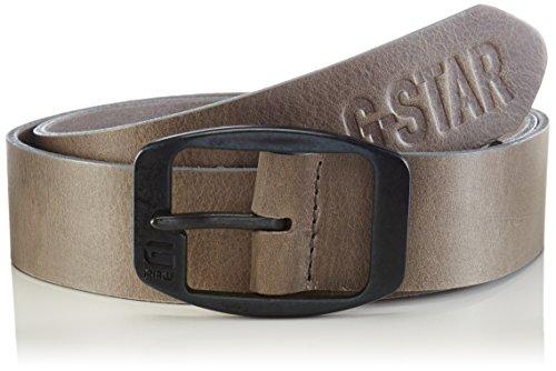 G-Star Ladd belt-Cintura Uomo    Gris (Gs Grey/rusty Steel Black 5918) 110 cm