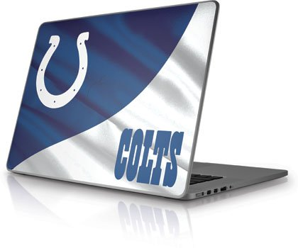 NFL® Indianapolis Colts Vinyl Laptop Skin for Apple MacBook Pro 15 at Amazon.com