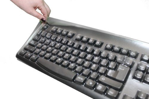 Russian Cyrillic Black Keyboard and Custom Made Cover: Russian Cyrillic English SimplyPlugo Keyboard Bundled With Keyboard Cover to Protect from Dirt, Dust, Liquids and Contaminants (Includes Both Keyboard and Cover)