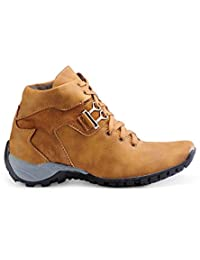 Royal Star Men's Tan Synthetic Leather Casual Shoes For Men
