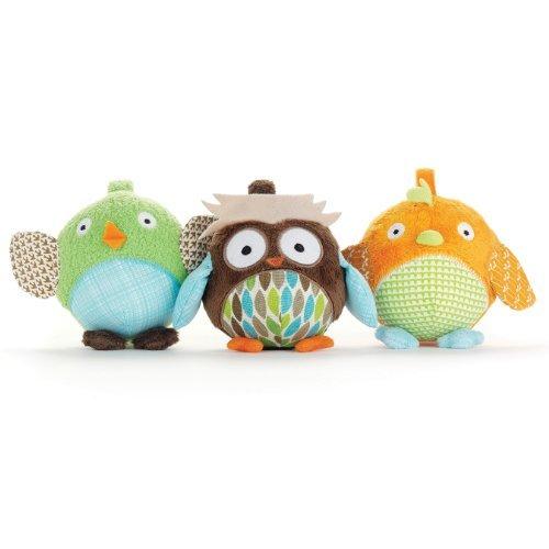 Skip Hop Treetop Friends Animal Ball Trio Toy, Kids, Play, Children front-726054