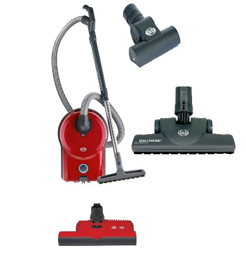 Sebo D4 Canister 90630Am Gvpe Red Pet Edition Vacuum W/ Et1