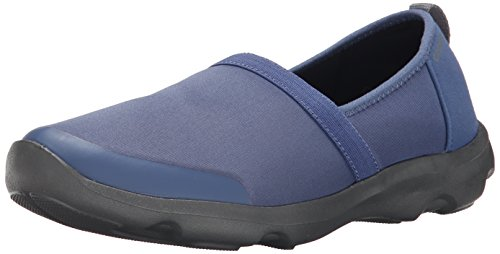 Crocs - Duet Busy Day 2.0 Satya A-Line 201884-43R, Scarpe Chiuse E Mocassini da donna, Blu (Blue (Bijou Blue/Graphite)), 4 UK