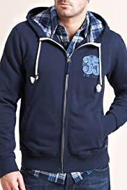 North Coast Cotton Rich Hooded Sweat Top [T28-1225N-S]