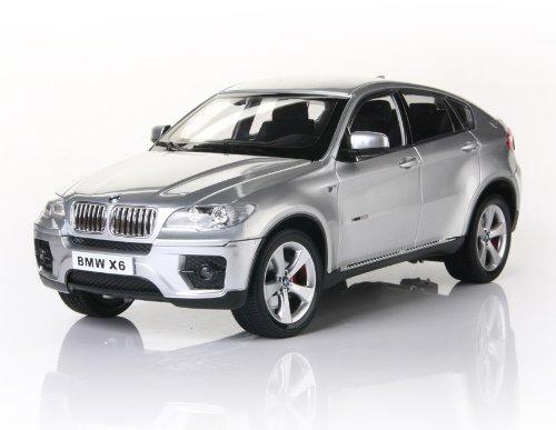 KAM CHUN BMW X6 6618-954E 1:16 6 Channel RC Car Model (Silver) + Worldwide free shiping