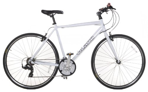 Great Deal! Vilano Performance 700C-21 Speed Shimano Hybrid Flat Bar Commuter Road Bike