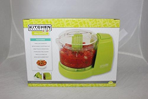 Kitchen Selectives Mini Food Chopper - Vivid Green