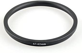 New 67-62mm 67mm-62mm 67 to 62 Metal Step Down Lens Filter Ring Stepping Adapter