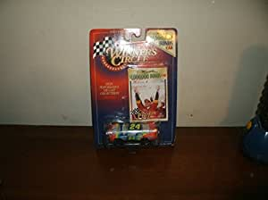 1997 NASCAR Winner's Circle . . . Jeff Gordon #24 Dupont Chevy Monte Carlo 1/64 Diecast . . . $1,000,000 Bonus Car . . . Includes Collector's Card