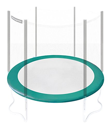 Ultrasport - Cubierta para borde de cama elástica, grosor 20 mm, 251 cm, verde