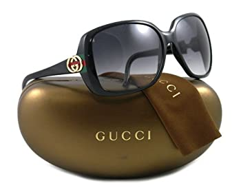 GUCCI SUNGLASSES GG 3166 GG3166 BLACK D28JJ