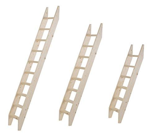 Intercon-Holztreppe-aus-Fichte-Massivholz-in-4-Gren-160-200-255-275-cm