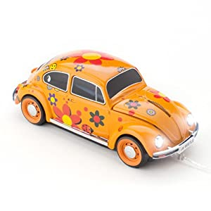click car 660462 souris filaire usb vw coccinelle flower. Black Bedroom Furniture Sets. Home Design Ideas