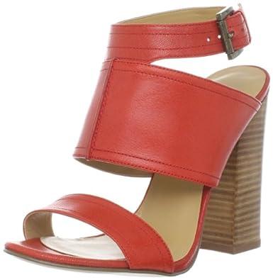 Nine West Women's Slipin Ankle-Strap Sandal,Orange,8 M US