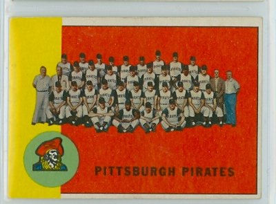 1963 Topps Baseball 151 Pirates Team Excellent (5 out of 10) by Mickeys Cards