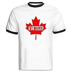 Maple Leaf Eh Man Short Sleeve T-shitr Sport