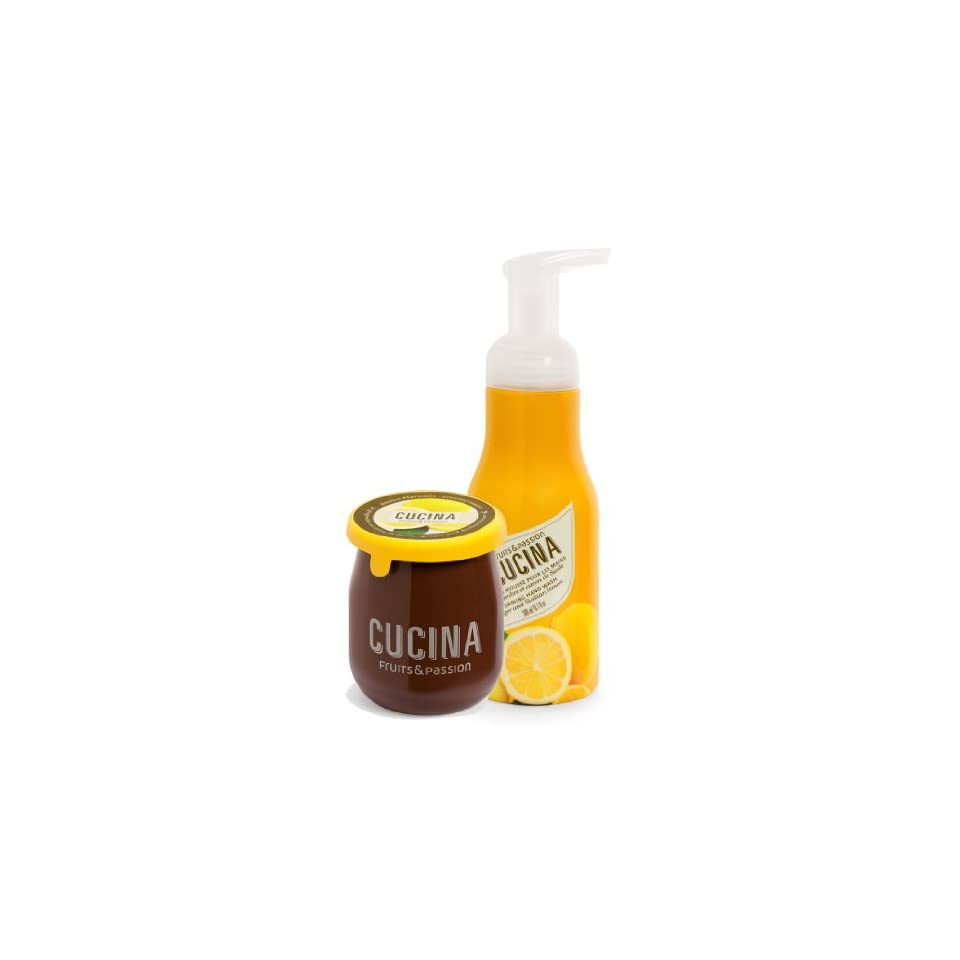 Cucina Foaming Hand Soap and Candle Duo Ginger & Sicilian ...