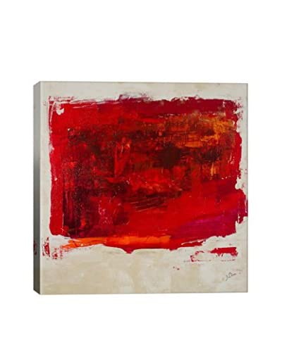 Julian Spencer Red Study Gallery-Wrapped Canvas Print