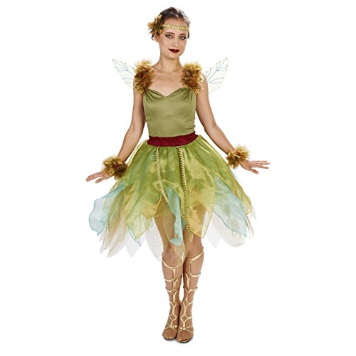 Woodland Princess Adult Costume L (Tinkerbell And Peter Pan Costumes For Adults)