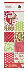 Martha Stewart Crafts Scandinavian Punch Pad, 24 Sheets, 4 by 12 Inches