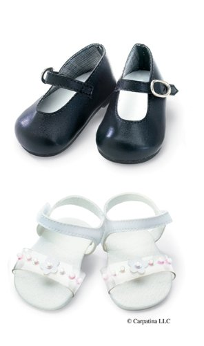 Excellent Shoes Set ~ Sandals and Mary Janes Fits 18