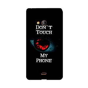 Phone Candy Designer Back Cover with direct 3D sublimation printing for Microsoft Lumia 540