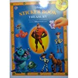 Disney Sticker Book Treasury Including Characters From Your Favorite Disney Pixar Films