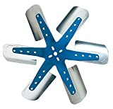 Flex-a-lite 1316 Blue Star Stainless Steel 6-Blade 16