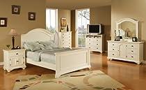 Hot Sale Elements Broderick 5-Piece Bedroom Set, Full, White