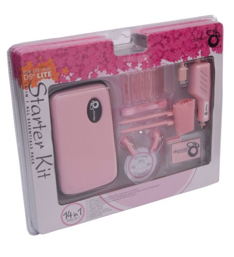 Draxter Pink Starter Kit for DS Lite (Nintendo DS)