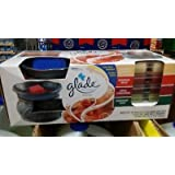 Glade Wax Melts Warmer 74920, Blue with Gray (Quantity 1)